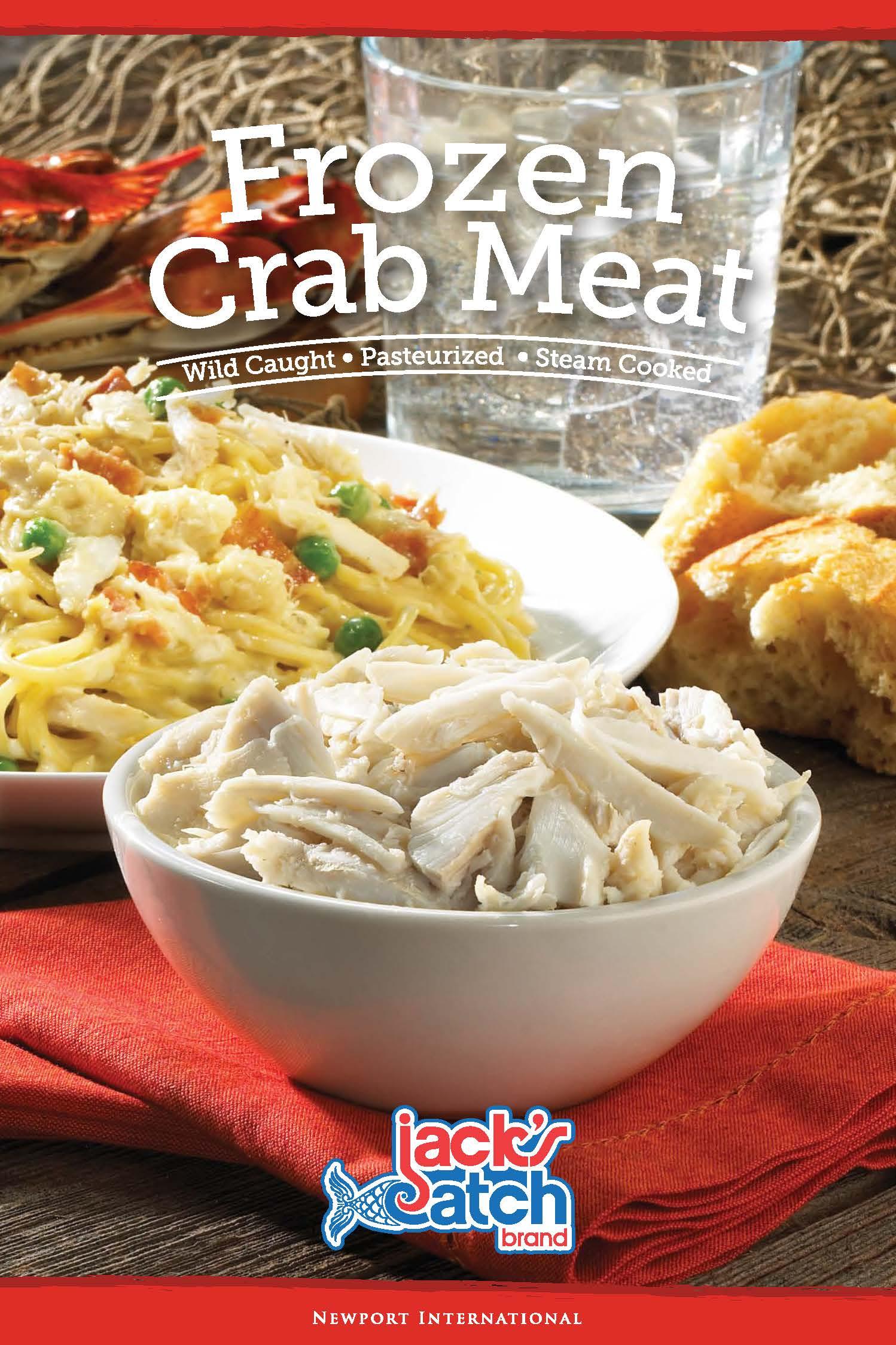 Frozen Crab Meat